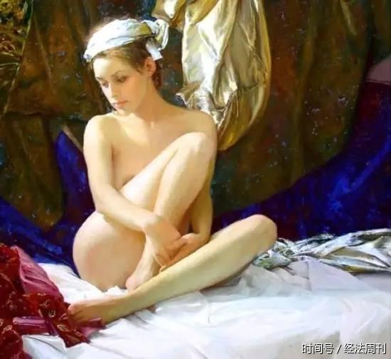 一组唯美的人体油画,不是一般的美!