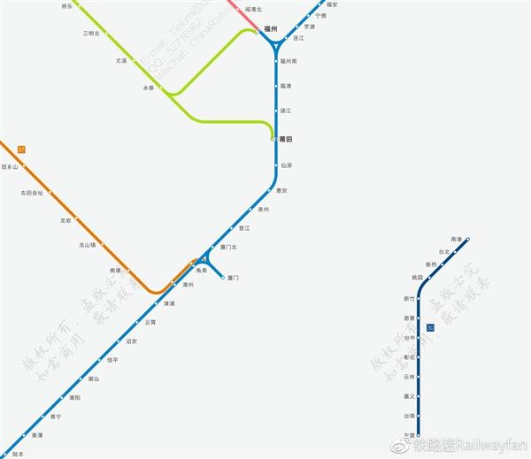 必收藏!中国高铁最新超高清全图:震撼